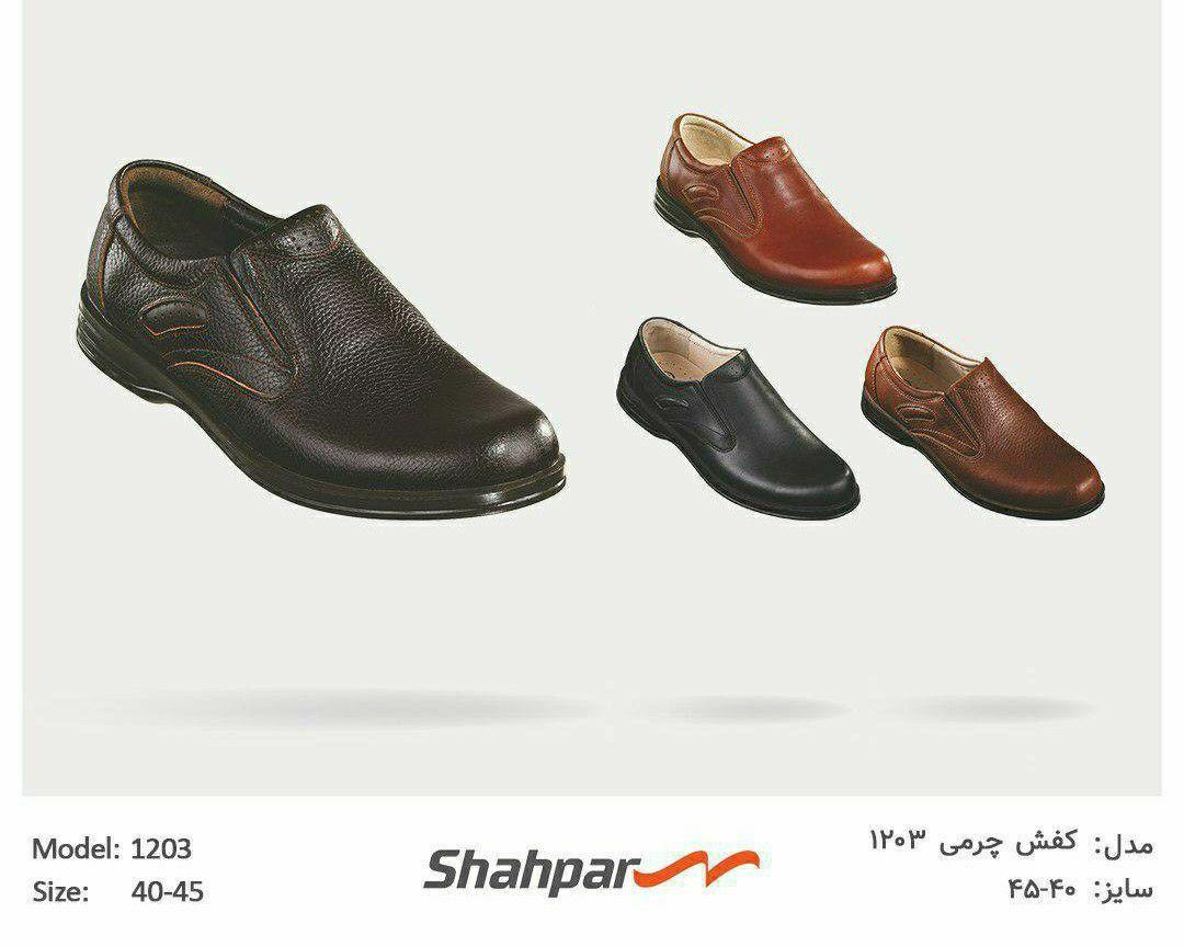 کفش چرمی۱۲۰۳