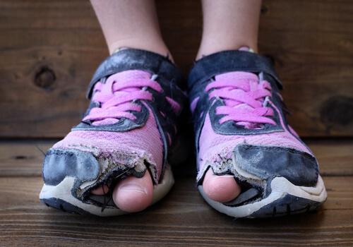 زمان مناسب تعویض کفش