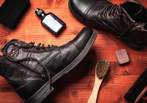 چگونه از کفش چرم نگهداری کنیم؟